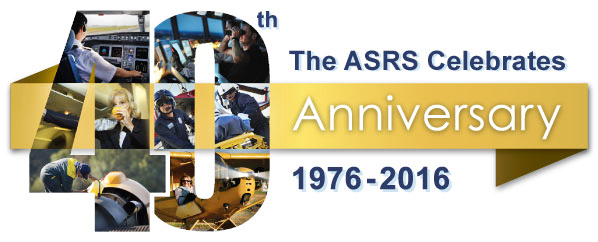 The ASRS Celebrates 40th Anniversary (1976 - 2016)